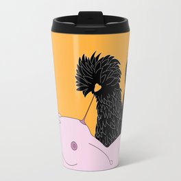 nip the nipple Travel Mug