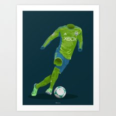 Seattle Sounders 2013 Art Print