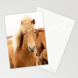 Icelandic Chestnut Horse Stationery Cards