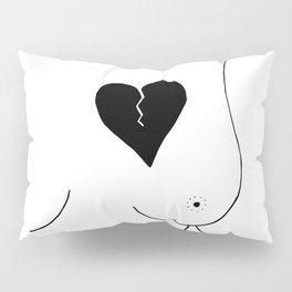 Every injured heart heals naturally Pillow Sham