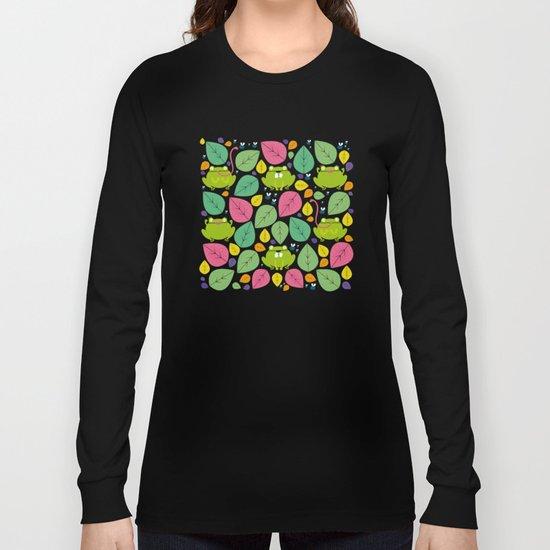 Frogs pattern Long Sleeve T-shirt