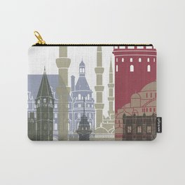 Istanbul skyline poster Carry-All Pouch
