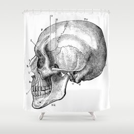 Skull 5 Shower Curtain
