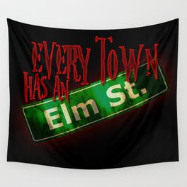Every Town Elm Street Wall Tapestry