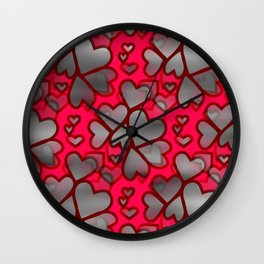 Heart Connection Wall Clock