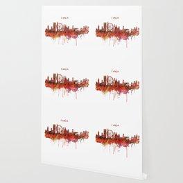 London Skyline watercolor Wallpaper