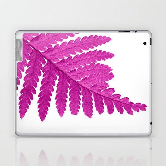 pink fern leaf I Laptop & iPad Skin