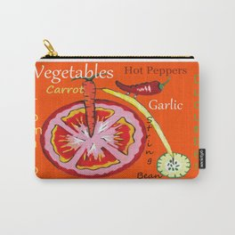 Vegetables -#typography Carry-All Pouch