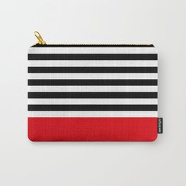 Rouge Rayures Carry-All Pouch
