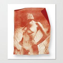 Pola nude Canvas Print