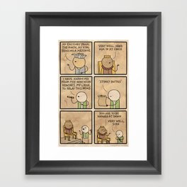Antics #188 - antiques Framed Art Print