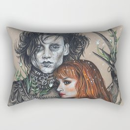"""Oh, Edward"" Rectangular Pillow"