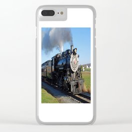 Steam Locomotive Clear iPhone Case