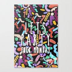 Lets Party  Canvas Print