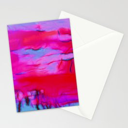 Pink Storm Stationery Cards