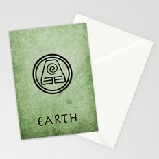 Avatar Last Airbender Elements - Earth Stationery Cards