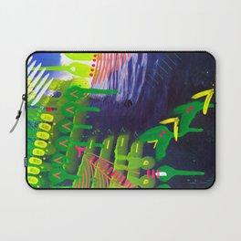 Wave green Laptop Sleeve