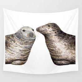 Grey seals(Halichoerus grypus) Wall Tapestry