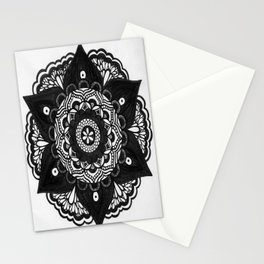 Flower Mandala Number 2 Stationery Cards