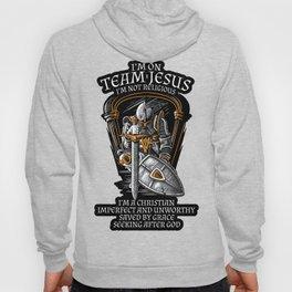 Knight Templar Crusader Shirt - I'm on Team Jesus Hoody