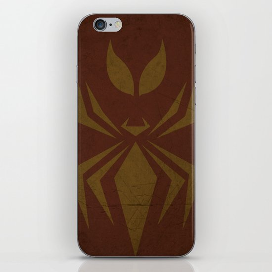 Iron Spiderman iPhone & iPod Skin