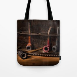 The Pipe Rack Tote Bag