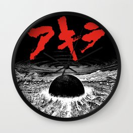 Neo Tokyo Is About to Explode Wall Clock