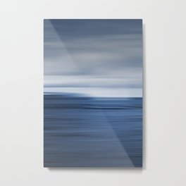 Under a Deep Blue Sky Metal Print