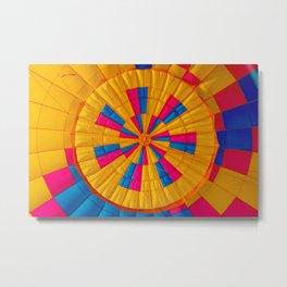Hot Air Balloon (Color) Metal Print