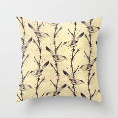 Freedom Birds Throw Pillow