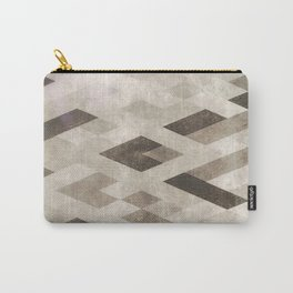 Abstract Pattern in Subtle Carry-All Pouch
