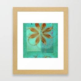 Exposure Reality Flowers  ID:16165-043834-44191 Framed Art Print