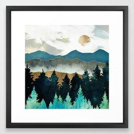 Forest Mist Framed Art Print