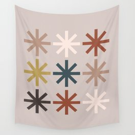 Snowflake 04 Wall Tapestry