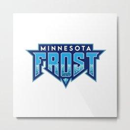 Minnesota Frost Main Logo Metal Print