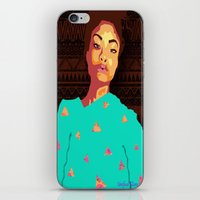 girly iPhone & iPod Skins featuring Girly by UnifiedGlory