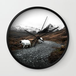 Ram Crossing / Isle of Skye Wall Clock
