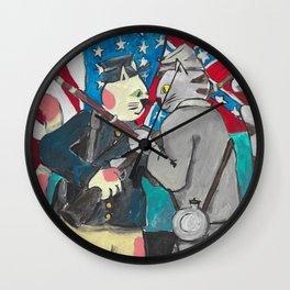 South Carolina Cats Wall Clock