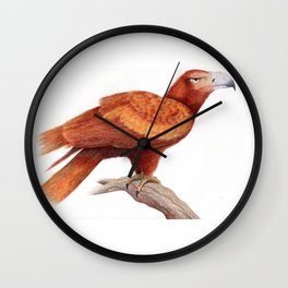 Wedged-tailed Eagle Wall Clock