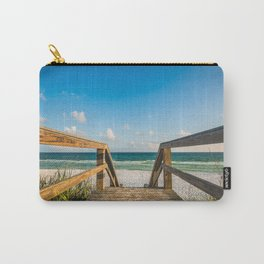 Head to the Beach - Boardwalk Leads to Summer Fun in Florida Carry-All Pouch