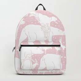 Polar gathering (powder rose) Backpack