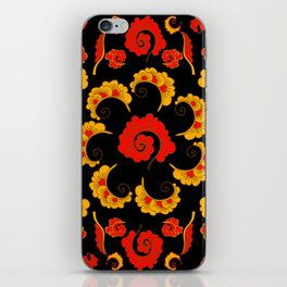 Traditional russian folk iPhone Skin