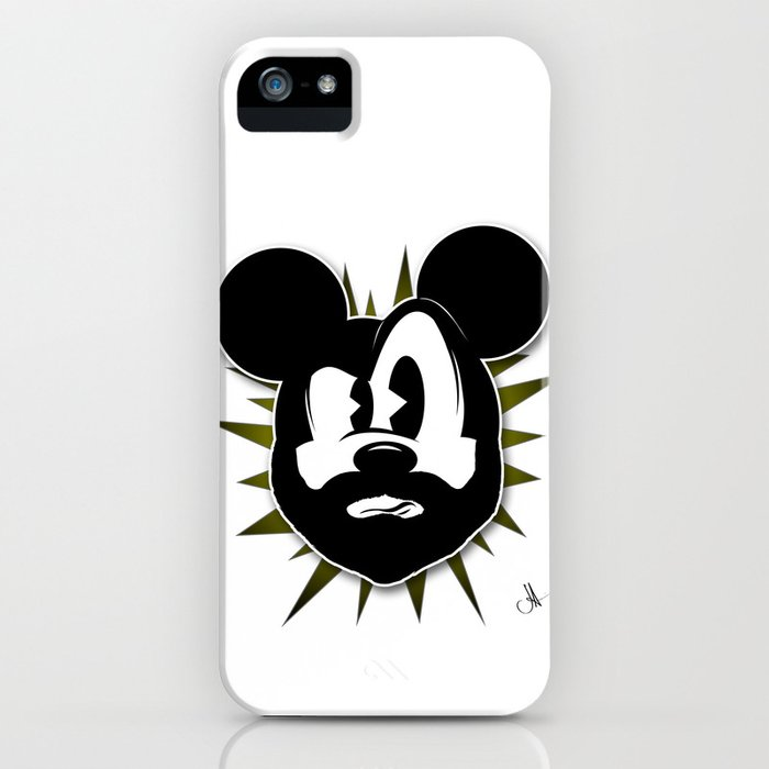 The Magic of the Beard iPhone Case