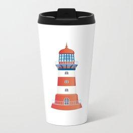 nautical lighthouse Metal Travel Mug