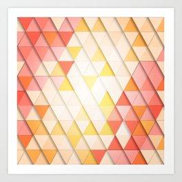 modern design pattern Art Print