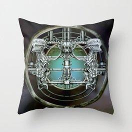 """Astrological Mechanism - Gemini"" Throw Pillow"