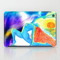 yoga iPad Cases featuring Yoga by solnceZ