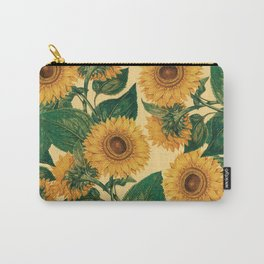 Helianthus Annuus Carry-All Pouch