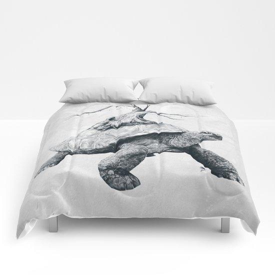 Tortoise Tree Comforters