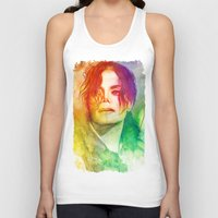 michael scott Tank Tops featuring Michael by Aurora Wienhold